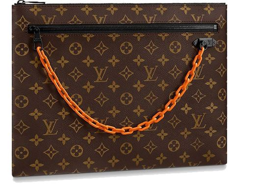 Picture of Louis Vuitton A4 Pouch Monogram Brown