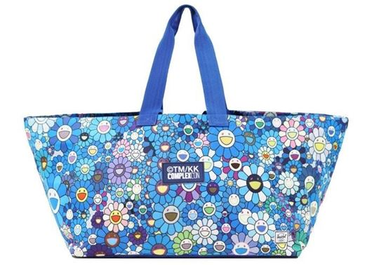 Picture of ComplexCon Flower Tote Bag Blue