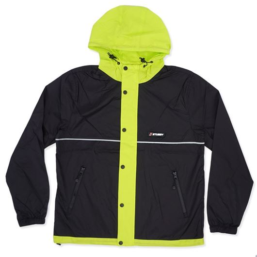 Picture of HONEYCOMB HOODED JACKET Black