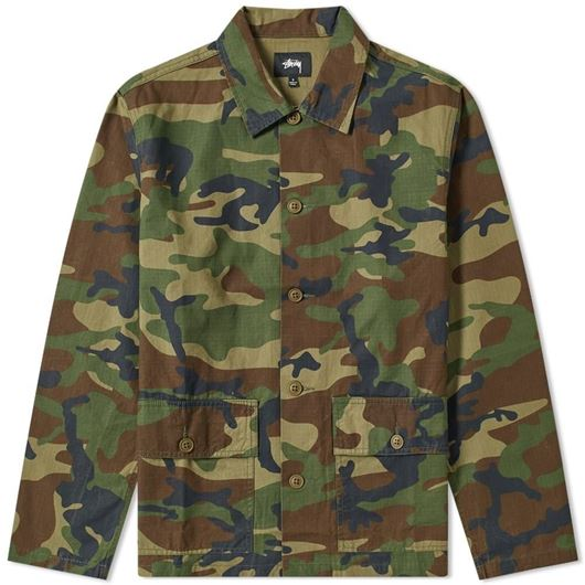 Picture of MILITARY LS SHIRT Camo