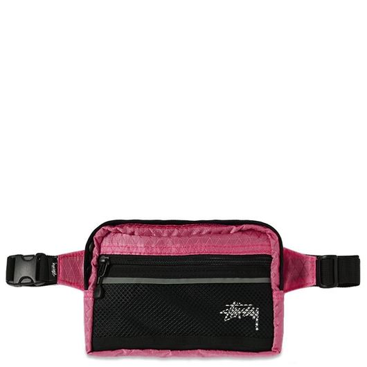 Picture of DIAMOND RIPSTOP WAIST BAG Berry