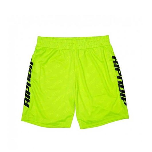 Picture of MBN Stripe Soccer Shorts Neon