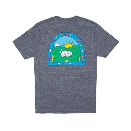 Picture of Two Nermals Tee Ash Heather