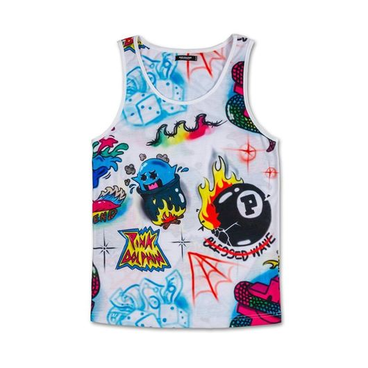 Picture of AIRBRUSH HALLUCINATIONS TANK White
