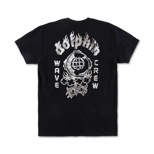 Picture of ROSE DIVER TEE Black