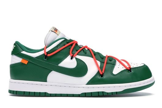 Picture of Nike Dunk Low Off-White Pine Green