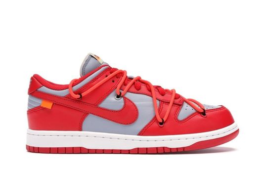 Picture of Nike Dunk Low Off-White University Red