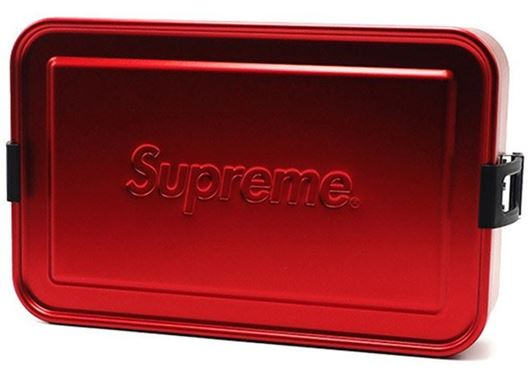 Picture of Supreme SIGG Large Metal Box Plus Red