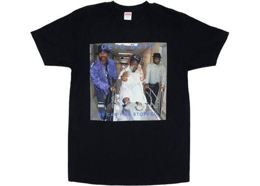 Picture of Supreme Rap A Lot Records Geto Boys Tee Black