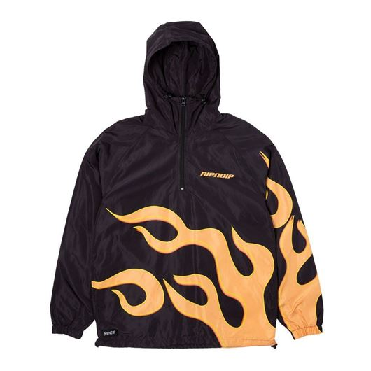 Picture of Flaming Hot Anorak Black