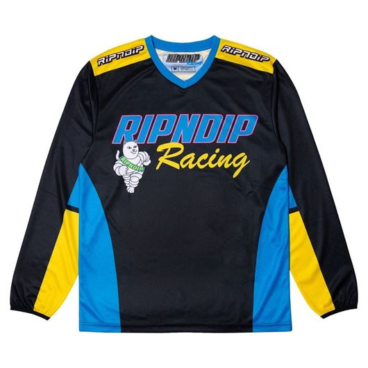 Picture of Racing Team LS Jersey Black