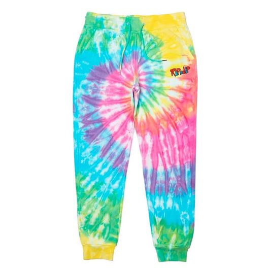 Picture of Nerm & Jerm Show Sweatpants Rainbow Spiral