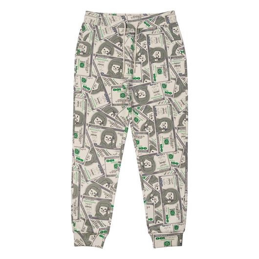 Picture of Money Bag Sweatpants Green