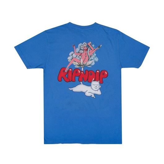 Picture of Cherry Blossom Tee Light Blue