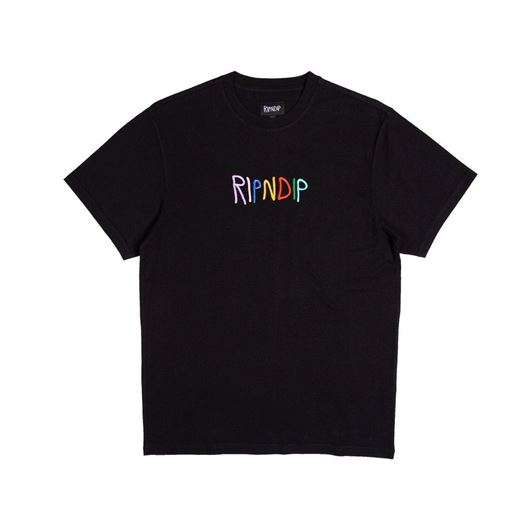 Picture of EMB Logo Tee Black
