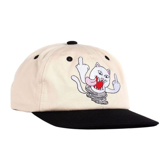Picture of Nermanian Devil Strapback Tan / Black