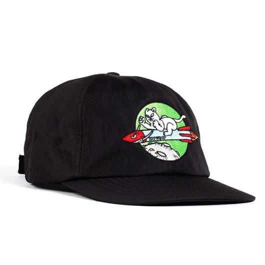 Picture of Rocket Man Strapback Black