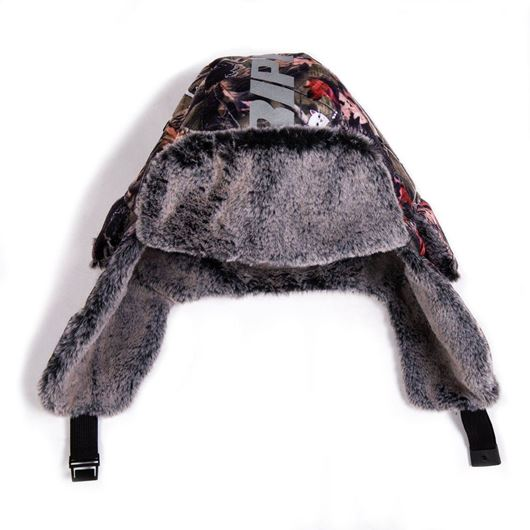 Picture of Nerm & Jerm Tree Camo Aviator Hat Multi