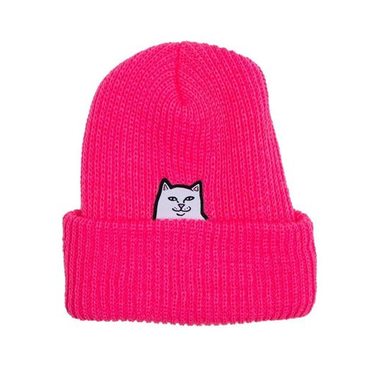 Picture of Lord Nermal Rib Beanie Fuchsia