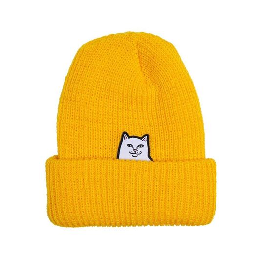 Picture of Lord Nermal Rib Beanie Gold