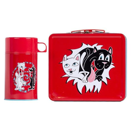 Picture of Nerm & Jerm Show Lunch Box  Red / Blue