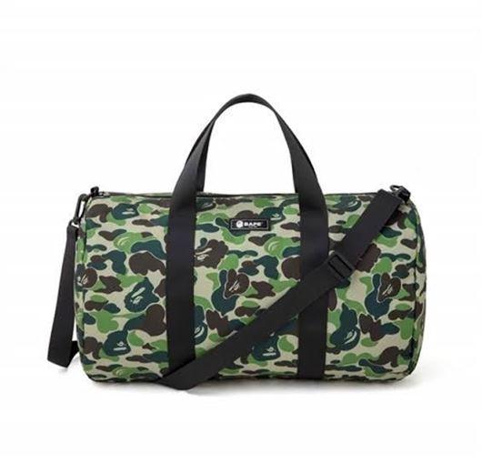 Picture of Bape  Bape Green camo Duffle bag