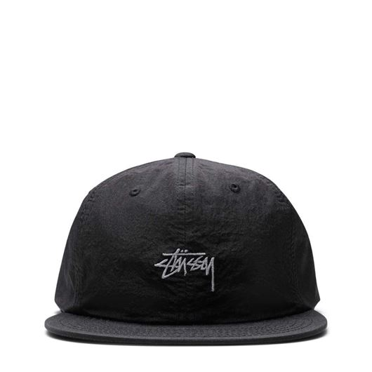 Picture of STOCK TASLAN STRAPBACK CAP Black
