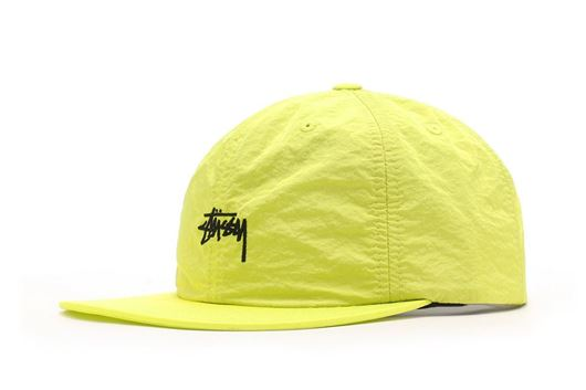 Picture of STOCK TASLAN STRAPBACK CAP NEON YELLOW
