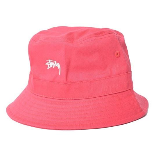 Picture of STOCK BAND BUCKET HAT Coral