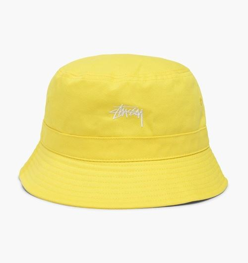 Picture of STOCK BAND BUCKET HAT YELLOW