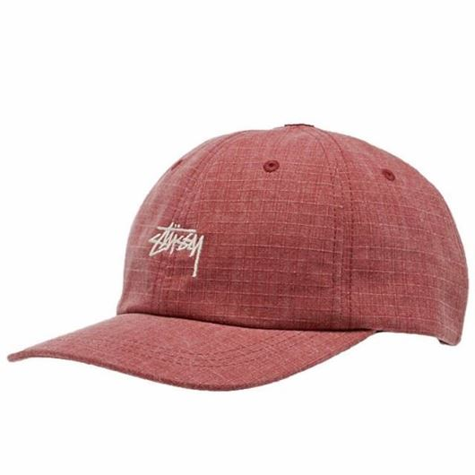 Picture of WASHED RIPSTOP LOW PRO CAP Red