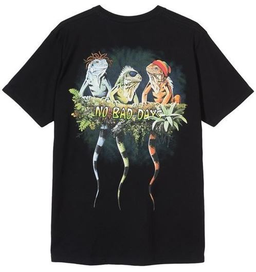 Picture of NO BAD DAYS TEE Black