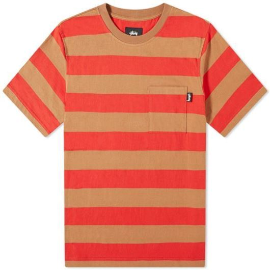 Picture of CLASSIC STRIPE CREW Brown