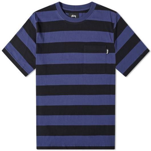 Picture of CLASSIC STRIPE CREW Navy
