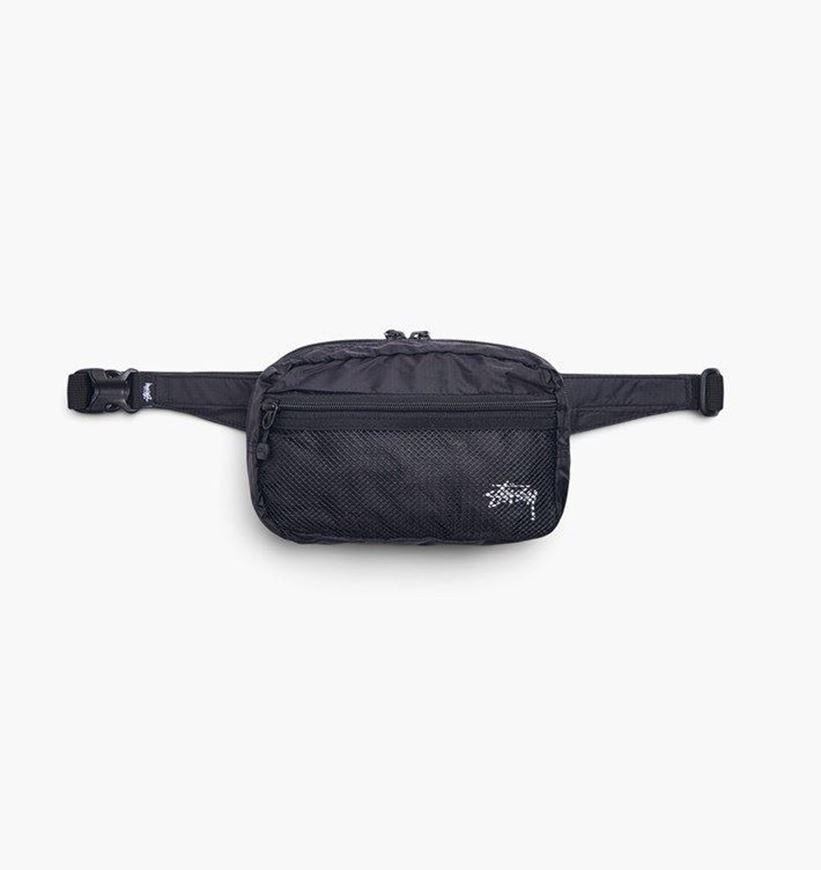 Picture of LIGHT WEIGHT WAIST BAG Black