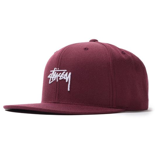 Picture of HO19 STOCK CAP BURGUNDY