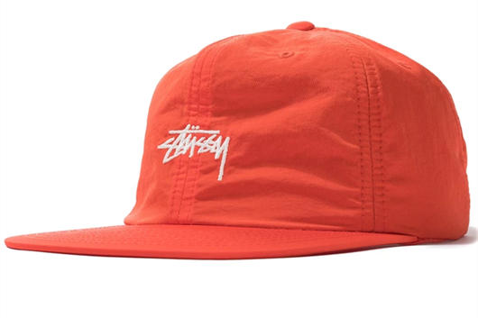 Picture of STOCK NYLON STRAPBACK CAP Orange
