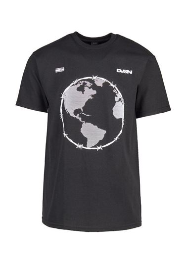Picture of WORLD PEACE S/S TEE Black