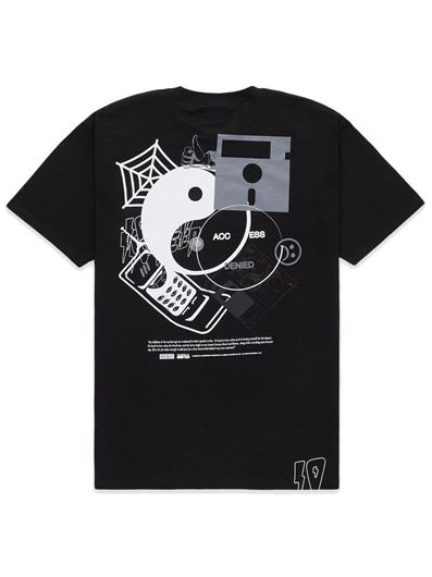 Picture of ACCESS DENIED TEE Black