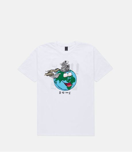 Picture of LET'S GO TO HELL TOGETHER TEE White