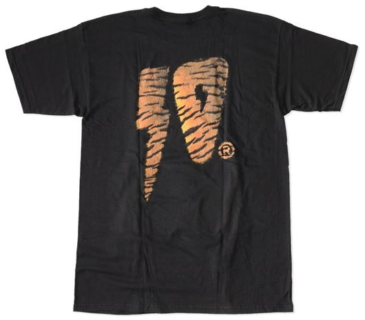 Picture of TIGER STRIKE TEE Black