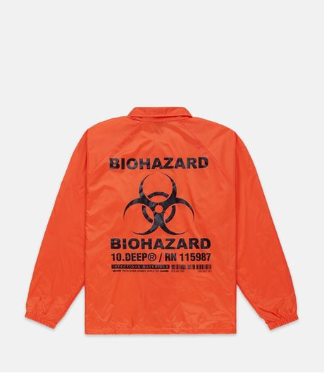 Picture of BIOHAZARD COACH'S JACKET Orange