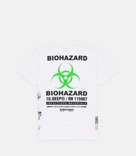 Picture of Biohazard Tee White
