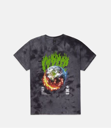 Picture of CATACLYSM Tee Black Tie Dye
