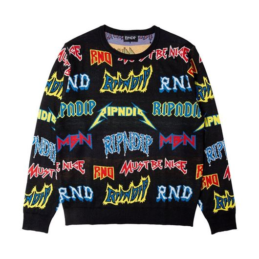 Picture of Rock N Nerm Sweater Black