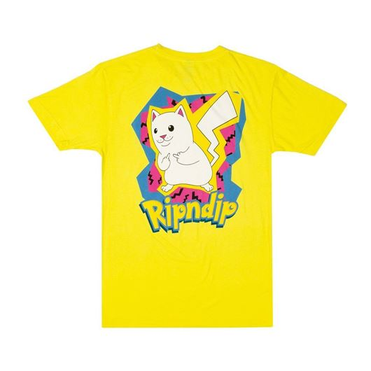 Picture of Catch Em All Tee Yellow