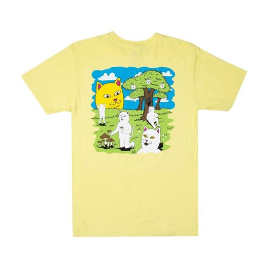 Picture of Park Day Tee Light Yellow