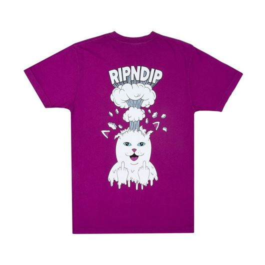 Picture of Mind Blown Tee Purple