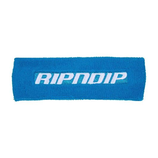 Picture of Fast Terry Cloth Sweatband Blue