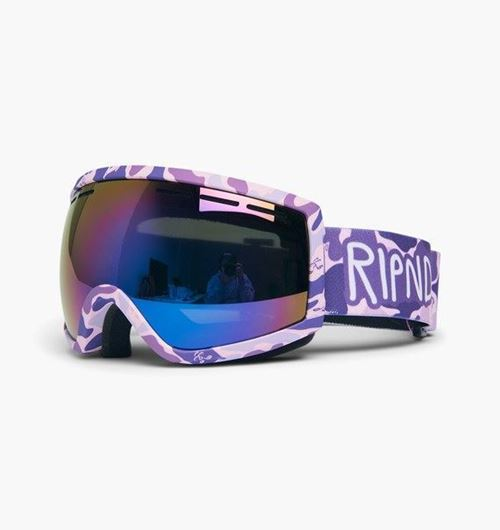 Picture of RIPNDIP Goggles Purple Camo